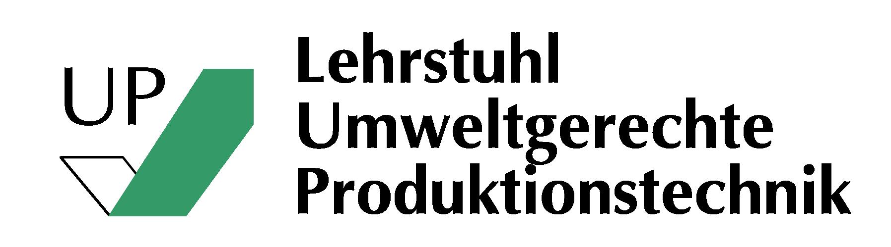 Logo des Lehrstuhls Umweltgerechte Produktionstechnik