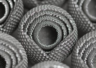 Additiv gefertigte Bauteile (Quelle: O.R. Lasertechnologie)