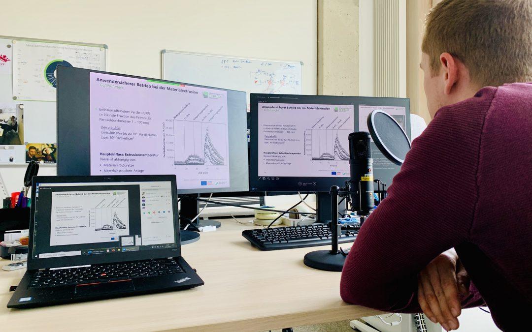 Webinar: Arbeitssicherheit in der additiven Fertigung